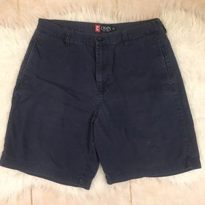 Chaps Classic Navy Shorts